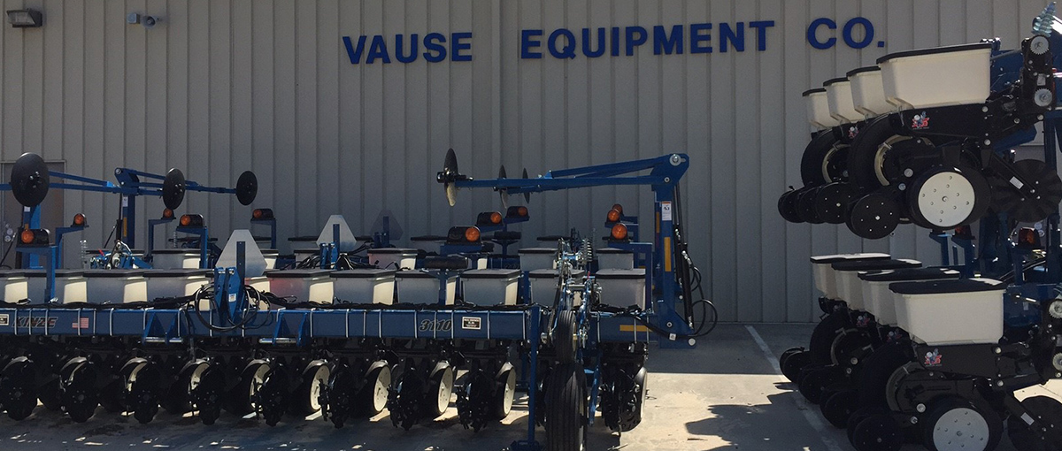 Store front and Kinze Equipment